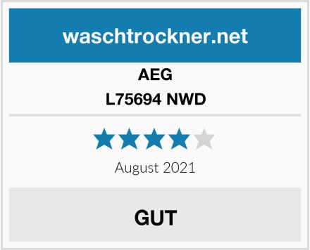 AEG L75694 NWD Test