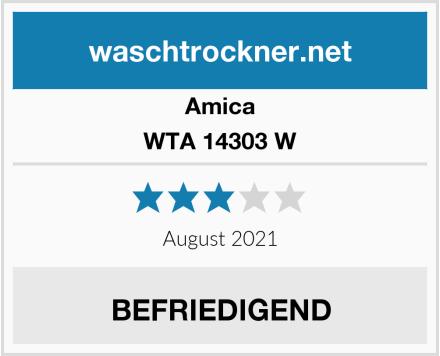 Amica WTA 14303 W Test