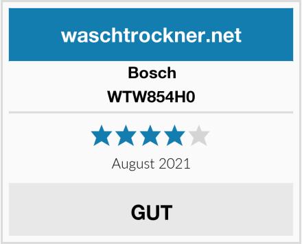 Bosch WTW854H0 Test