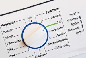 Ökologische Waschgänge – das ist zu beachten